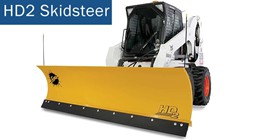 HD2-Skid-Steer- Plow - Click Here For Specs
