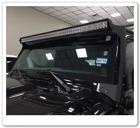 50 Inch Led Windshield Light Bar by N-Fab