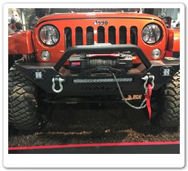 Front Bumper Guard with Winch by Trail Fx