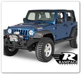 Front Winch Mounted Bumper Jeep Rampage
