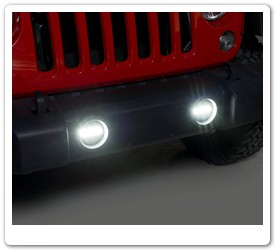 Jeep LED Fog Lights by Putco