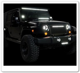 Jeep Luminix LED Light Bars for Jeep