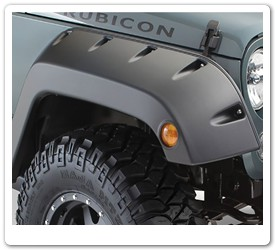 Jeep Pocket Fender Flares by Bushwacker