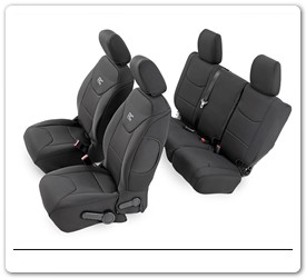 Jeep Wrangler Seat Covers by Rough Country