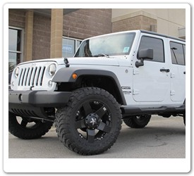 KMC Rockstar Wheels for Jeep Wrangler