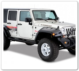 Pocket Style Fender Flares by Bushwacker