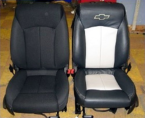 Classic Interiors Before After Boating Custom Sport Upholstery Upgrades Motorcycle Seats